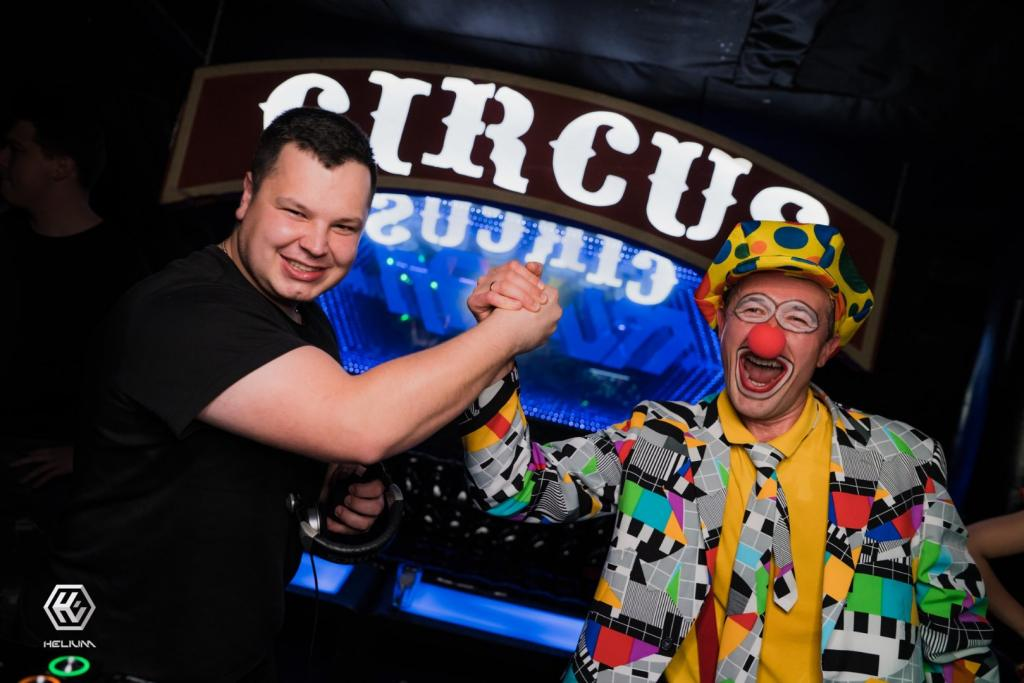 klaun na imprezę firmową