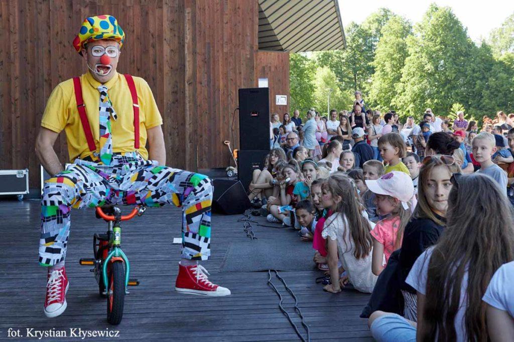klaun na piknik, festyn